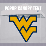 west virginia popup canopy tent tailgate football