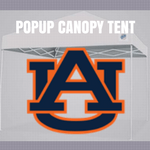 auburn tigers popup canopy tent ncaa logo for football tailgating