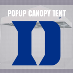 duke blue devils tailgate canopy pop up tent football