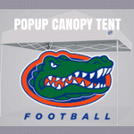 florida gators popup canopy tent ncaa logo for football tailgating