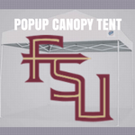 florida state pop up canopy tent tailgate football