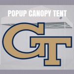 georgia tech pop up canopy tailgate tent