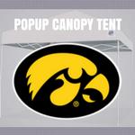 iowa hawkeyes popup canopy football tailgate tent