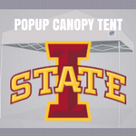 iowa state cyclones popup canopy tent tailgate