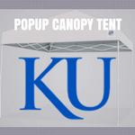 kansas jayhawks popup canopy tent tailgate football