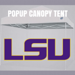 lsu tigers popup canopy tent for football tailgating