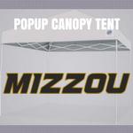 missouri tigers popup canopy tent ncaa logo football tailgate