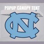 north caolina tar heels pop up canopy tent tailgate