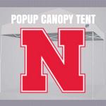 nebraska cornhuskers popup canopy football tailgate tent