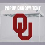 oklahoma sooners popup canopy tent tailgate football
