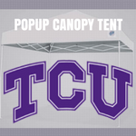 tcu horned frogs popup canopy tent football tailgate