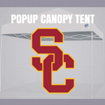 usc trojans popup canopy logo tent football tailgate