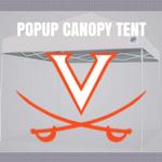 virginia cavaliers pop up canopy tent tailgate