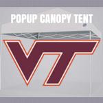 virginia tech pop up canopy tent