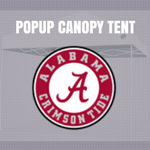 alabama popup canopy tent for football tailgating