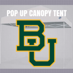 baylor bears pop up tailgate canopy tent with ncaa logo for sale