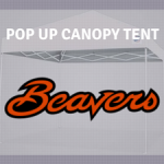 oregon state beavers pop up tailgate canopy tent