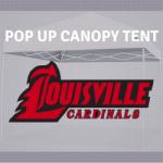 tailgate canopy pop up tent louisville cardinals football