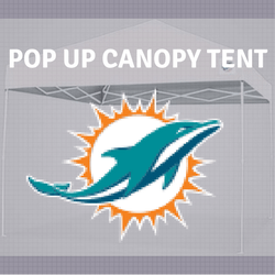 miami dolphins Tailgate Canopy Pop Up Tent