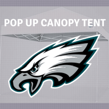 philadelphia eagles pop up canopy tailgate tent