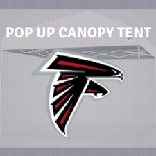Nfl Team Logo Nfc South Canopy Pop Up Tent For Tailgating