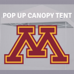 minnesota gophers pop tailgate canopy tent ncaa logo for sale