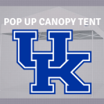 kentucky wildcats pop up tailgate canopy tent for tailgating