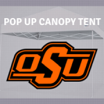 tailgate canopy tents oklahoma state cowboys