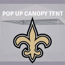 saints pop up canopy tailgate tent