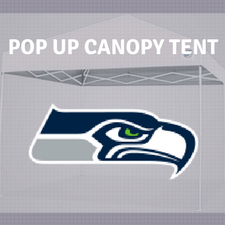 seattle seahawks pop up tailgate canopy tent