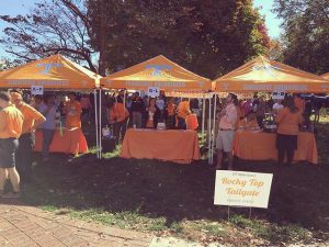 tailgate canopy popup tent ncaa tennessee volunteers