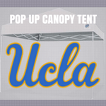 ucla bruins pop up tailgate canopy tent with logos for sale