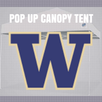 washington huskies pop up tailgate canopy tent with logo for sale