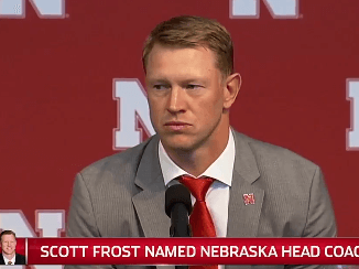scott frost becomes new Nebraska Head football coach