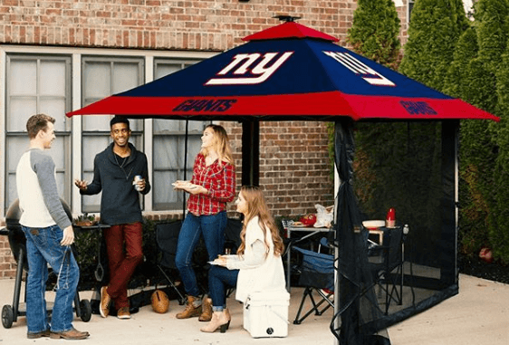 tailgate canopy tents can be used for at home on the patio entertaining guests