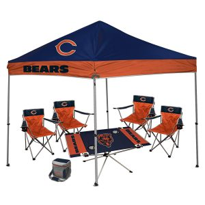 Chicago Bears Football Pop Up Canopy Tent For Sale