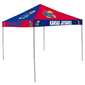 Kansas Jayhawks Pop Up Canopy Tent For Tailgating Camp