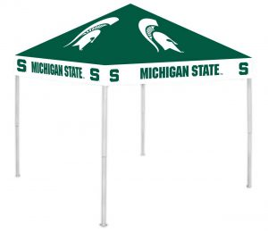 Get your Michigan State football canopy tent on amazon now! Click image to buy.