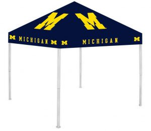 Get your Michigan Wolverine football canopy tent on amazon now! Click image to buy.