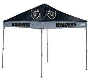 Get your Oakland Raiders football canopy tent on amazon now! Click image to buy.