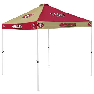 Get your San Francisco 49ers football canopy tent on amazon now! Click image to buy.