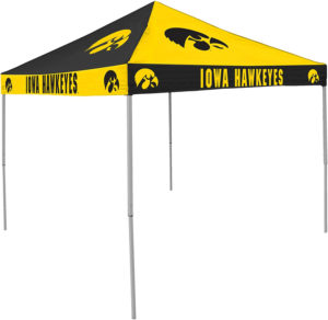 tailgatecanopytents.com has iowa hawkeyes checkerboard canopy tent for sale.