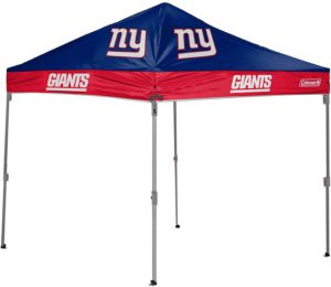 tailgatecanopytents.com has new york giants football tailgating tents for sale. click the image to purchase on amazon now.